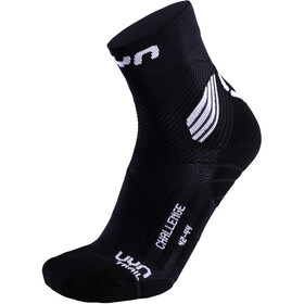 UYN Run Trail Challenge Socks Herre black/white